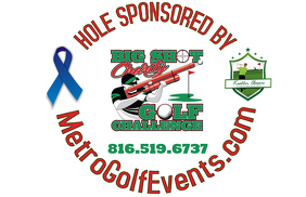 Golf Ball Hole Sponsor Sign