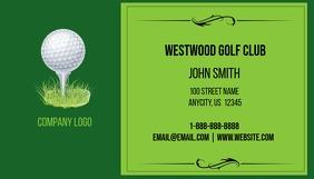 Customizable design templates for golf business card postermywall golf business card colourmoves
