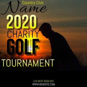 GOLF CHARITY EVENT TEMPLATE