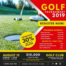 Golf Club Championship Registration Video