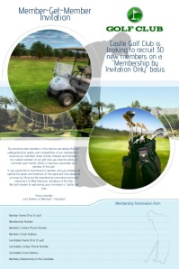 Golf Club Video Advert