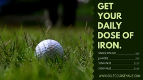 Golf Course Promo Video Template