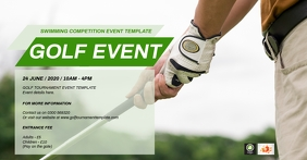 Golf Event Template