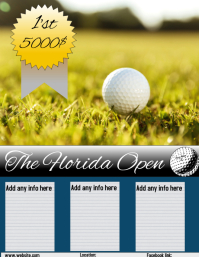 Golf flyer /poster/ad
