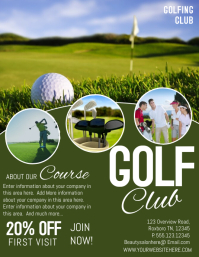 Customizable Design Templates For Golf PosterMyWall - Golf brochure templates