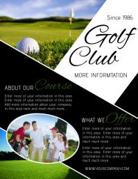 Golf Poster Templates PosterMyWall - Golf brochure template