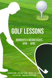 Golf Lessons Template
