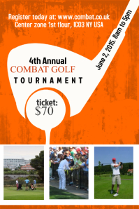 Golf Poster Template