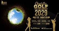 Golf Tournament Advert Gambar Bersama Facebook template