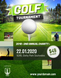 Golf Tournament Club Charity Annual
