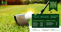 Golf Tournament Image partagée Facebook template