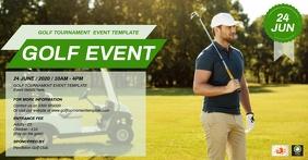 Golf Tournament Event Template