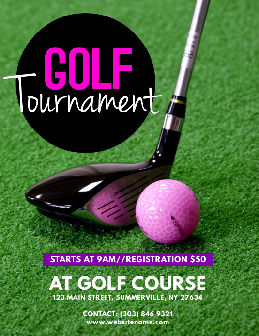 Golf Poster Templates  Postermywall