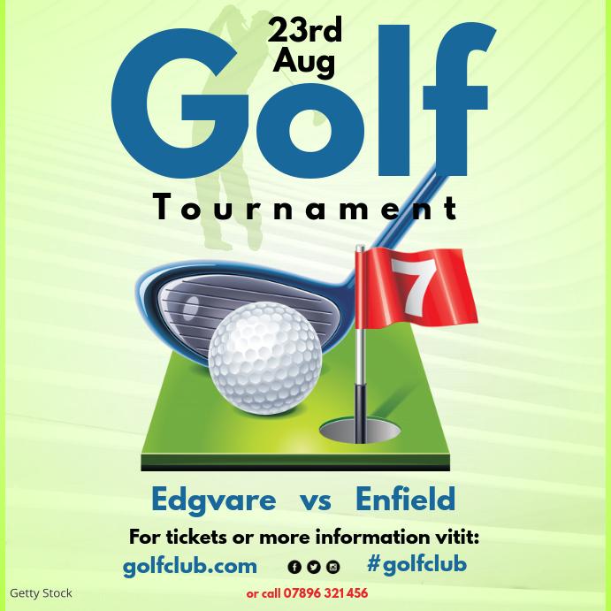 Golf Tournament instagram