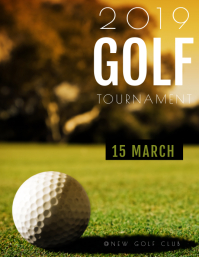 GOLF TOURNAMENT TEMPLATE