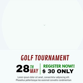 GOLF TOURNAMENT VIDEO TEMPLATE