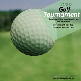 golfing AD DIGITAL VIDEO SOCIAL MEDIA