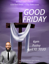 Good Friday church Worship service