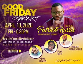 Good Friday Concert Flyer