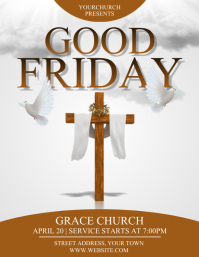 GOOD FRIDAY Flyer (US Letter) template