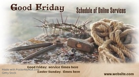 Good Friday Digital Display