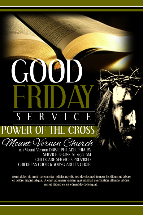 Good Friday Flyer