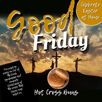 Good friday of easter26video Square (1:1) template