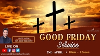Good friday service Umbukiso Wedijithali (16:9) template