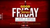Good Friday Service Tampilan Digital (16:9) template