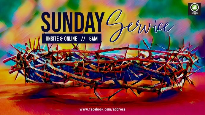 Good Friday Service Digitalt display (16:9) template