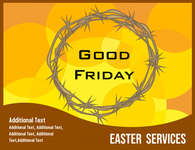Good Friday Services Flyer