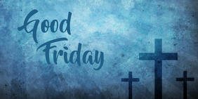good friday template Publicación de Twitter