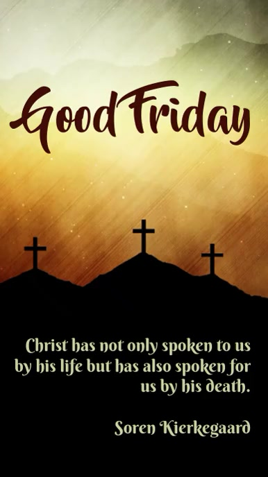 good friday template Instagram Story
