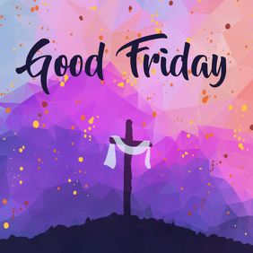 good friday template Instagram Post
