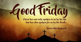 good friday template Facebook Shared Image
