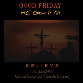 Good Friday Message Video