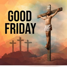 Good Friday Wishes | Customizable Template Portada de Álbum