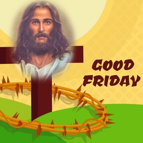 Good Friday Wishes | Template Album Cover