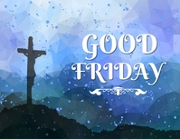 Good Friday Wishes Poster Template Flyer (US Letter)