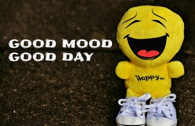GOOD MOOD AND DAY QUOTE TEMPLATE Tabloid