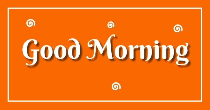 Good morning Gambar Bersama Facebook template