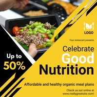Good Nutritional Food Deal Instagram Video Te template