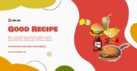 Good Recipe Restaurant Imagem partilhada do Facebook template