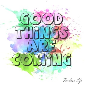 Good Things Are Coming square video animation Instagram Post template