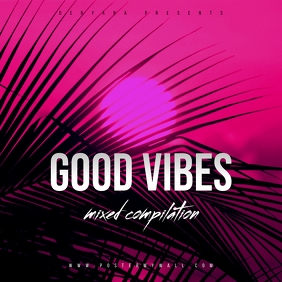 Good Vibes CD Cover Template