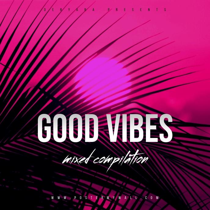 Good Vibes CD Cover Template Sampul Album