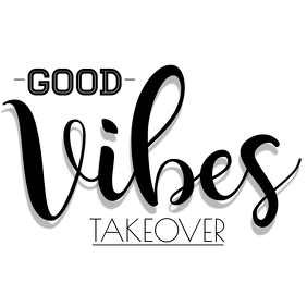 Good Vibes Logo Design โลโก้ template