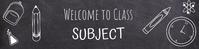 Google Classroom Banner template