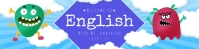 Google Classroom Banner - English template