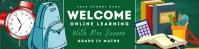 Google Classroom Banner - Maths template